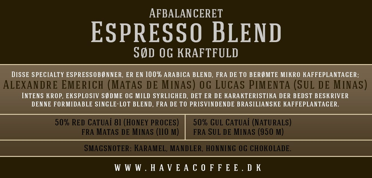 Have A Coffee Espresso bønner