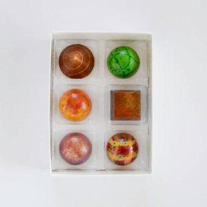 Temper Chokolade Æske m. 6 stk.