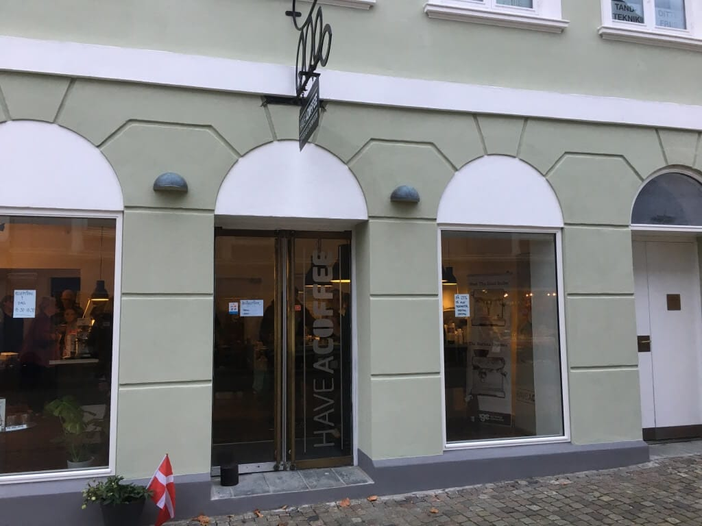 Have A Coffee Butikken i Aabenraa