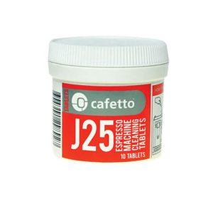 Cafetto J25 Rensetabletter 10 stk
