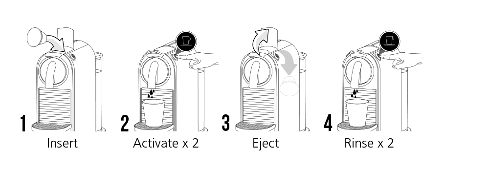 Cafetto ECO Capsule Clean - Rens til Kaffe Kapselmaskiner