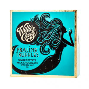 Willie's Cacao - Praline Truffles Milk Chocolate with Sea Salt 35g