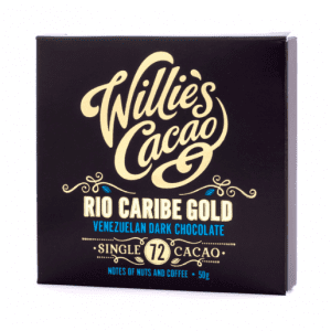 Willie's Cacao - Rio Caribe Gold 72% - Mørk Single Estate Chokolade fra Venezuela 50g
