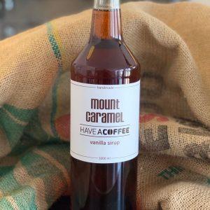 Mount Caramel - Kaffesirup med vanilje 1 Liter